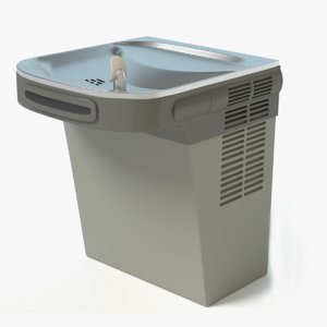 max realistic drinking fountain