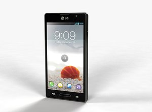 3d model lg optimus l9 p765