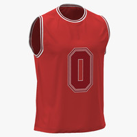 Basketball Jersey Red