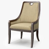 century matlock chair 3d max