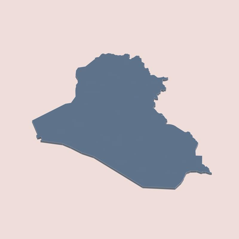 3d iraq model