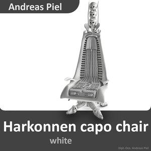 3d model harkonnen capo chair