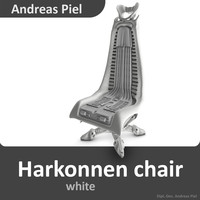 3d harkonnen chair
