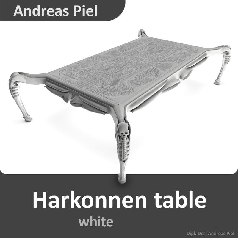 c4d harkonnen table