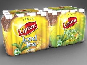 3ds 6 packs lipton