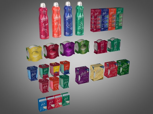 obj glade candle products