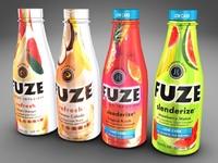3d model of bottles fuze