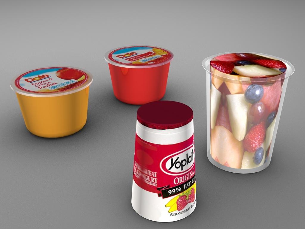 yogurt fruit cup 3ds