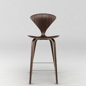 3d model cherner wood leg