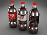 liter bottle 3d 3ds