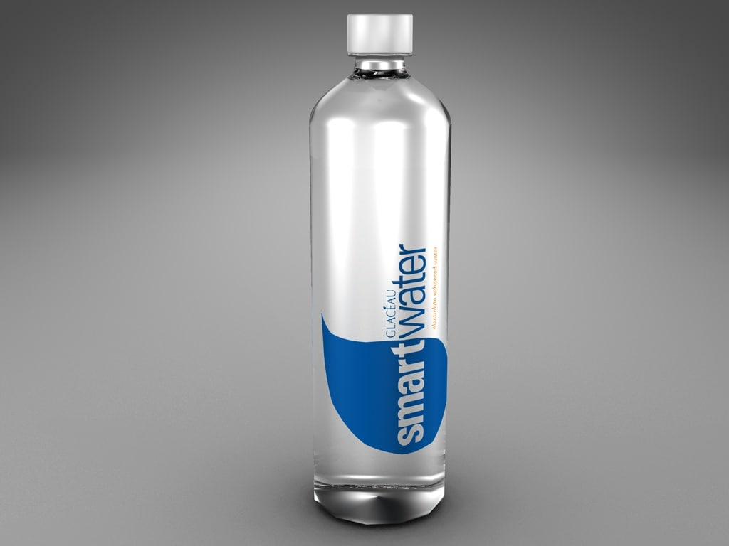 animated water bottle