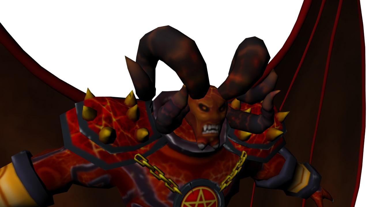 boss monster mob 3d model