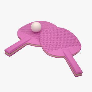 ping pong paddle max