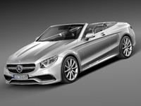 Mercedes-Benz S63 AMG Cabriolet 2017