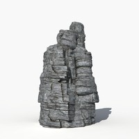 rock 3d model