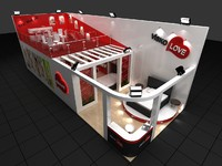 3d fair stand exhibition medical
