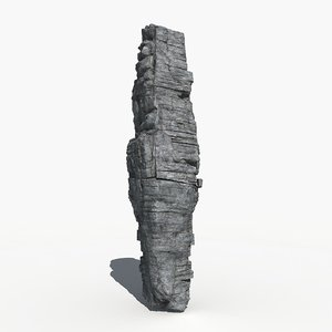 rock boulder 3d model
