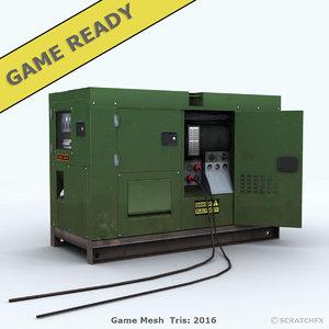 3d ready generator