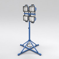 3d max work light