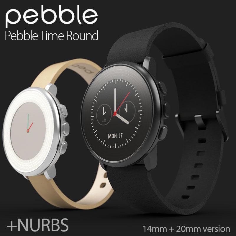3d pebble smartwatch