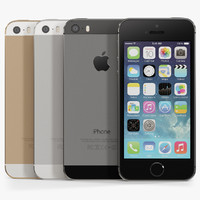 apple iphone 5s phone 3d max