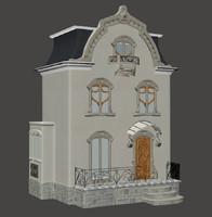 Art Nouveau dolls house