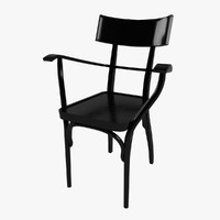 3ds max gebruder thonet czech chair