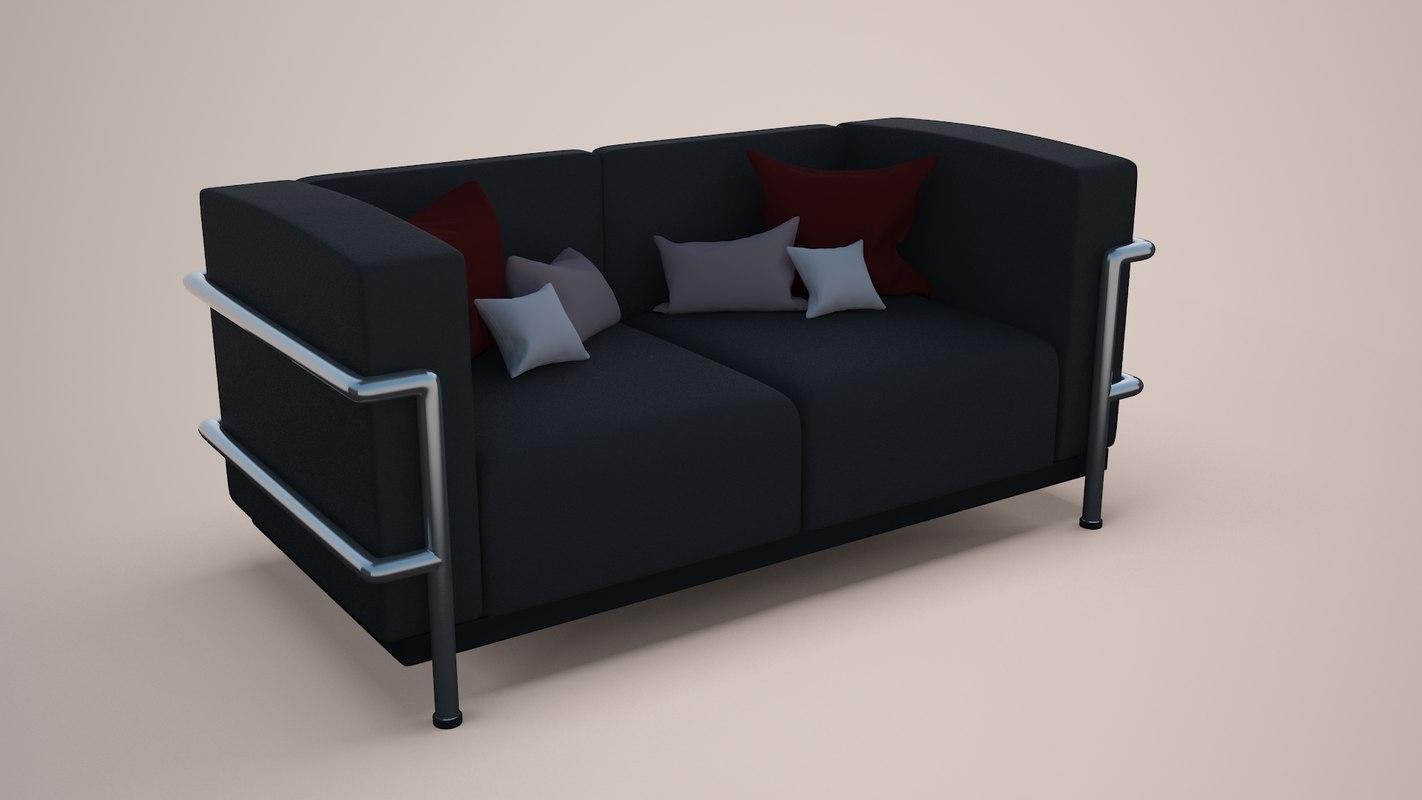 3d sofa pillows