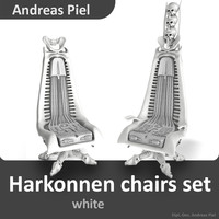 c4d set harkonnen chair
