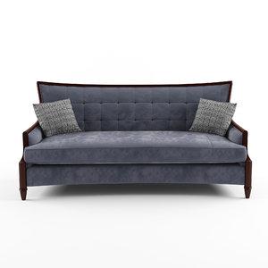3d model of sofa neoclassic