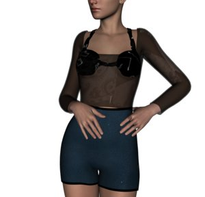 3d model chicstyle 1