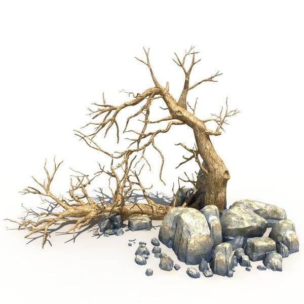 max scary tree dry
