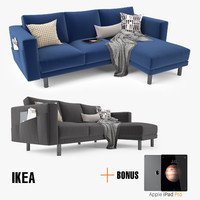 ikea morsborg corner sofa obj