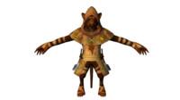rat character 3d model