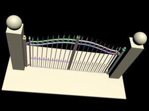 3d gate steel