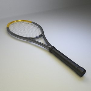 tennis raquet 3ds