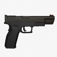 hs produkt xdm 9mm pistol obj
