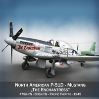 North American P-51D Mustang - The Enchantress