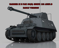 Marder II D Pak 36R Sdkfz 132 Early Version