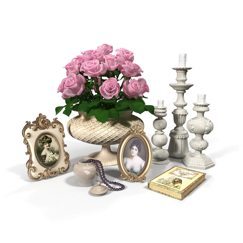 3d model set decor