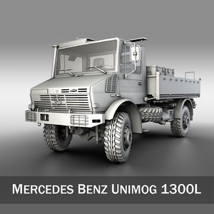 unimog trucks mercedes c4d