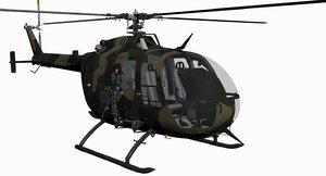 3d military mbb bo-105