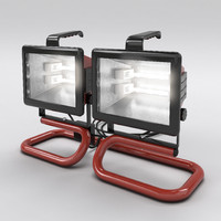 work light 3d obj