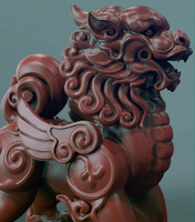 3d model zbrush chinese