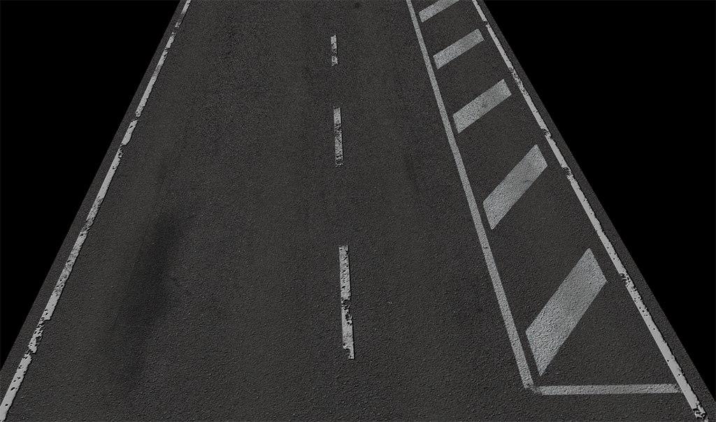 3d road builder set model