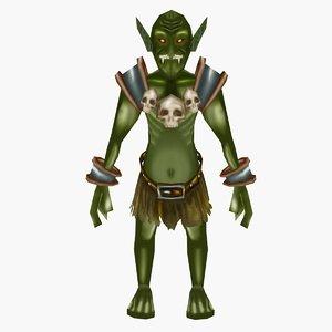 fantasy goblin 3d max
