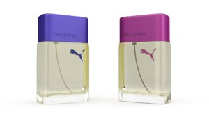 3d model puma perfume
