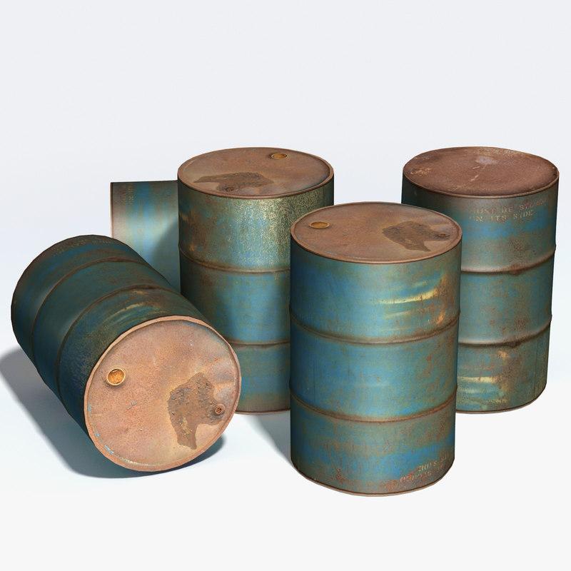 obj storage drum corroded
