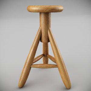 artek rocket bar stool max