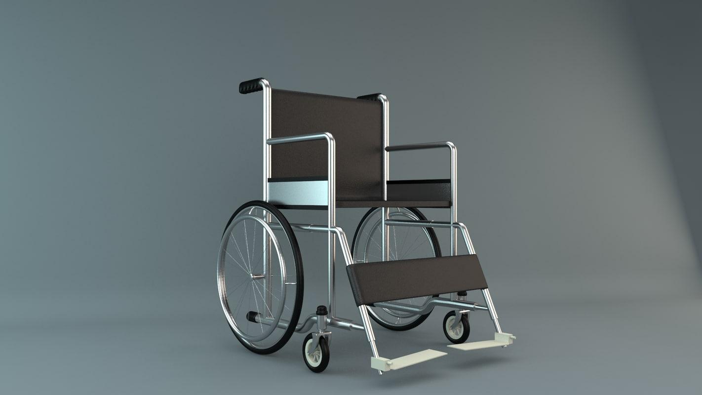 wheelchair wheel chair 3ds